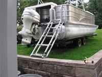 Pontoon - Rear Mount Ladder