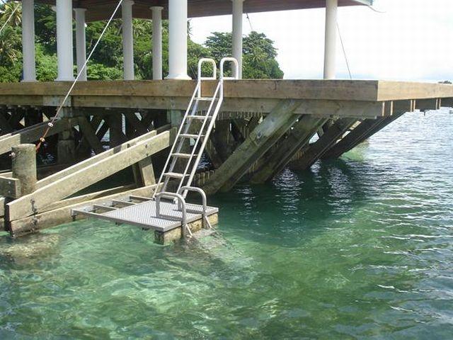 6 Step Ladder Aqua Stairs