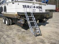 Pontoon - Swim Platform / Yacht Ladder
